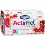 Кисломолочный напиток Actimel 2.5% гранат, 100г х 8шт