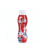 Йогурт питьевой Чудо 2.4%, 290г, черника-малина