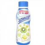 Йогурт питьевой Эрмигурт 1.2%, 290г, киви/крыжовник