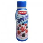 Йогурт питьевой Эрмигурт 1.2% лесные ягоды, 290г