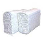 Бумажные полотенца Lime эконом листовые, белые, Z  укладка, 250шт, 1 слой, 215250