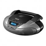 Магнитола Mystery BM-6108U серая, CD/CD-RW/USB/SD, серая