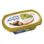 Сыр творожный Creme Bonjour 27%, 200г, с огурцом