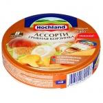 Сыр плавленый Hochland, 55%, 140г, грибная корзинка