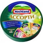 Сыр плавленый Hochland бекон-огурец-укроп-эмменталь, 55%, 140г