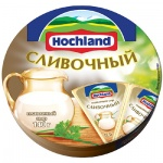 Сыр плавленый Hochland, 55%, 140г, сливочный