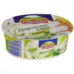 Сыр творожный Hochland 60% с зеленью, 140г