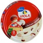 Сыр плавленый Виола с грибами, 50%, 130г