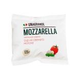 Сыр мягкий Unagrande 50% Моцарела чильеджина, 125г, маленькие шарики