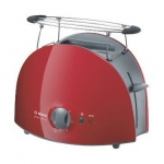 Тостер Bosch TAT6104 красный, 900 Вт