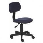 Кресло детское Бюрократ CH-201NX/Dolls ткань, крестовина пластик, черно-синее