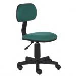 Кресло детское Бюрократ CH-201NX ткань, зеленая, крестовина пластик