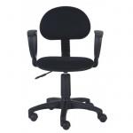 Кресло офисное Бюрократ CH-213AXN ткань, черная, крестовина пластик