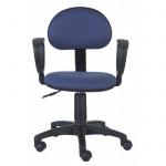 Кресло офисное Бюрократ CH-213AXN ткань, синяя, purple, крестовина пластик