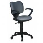 Кресло офисное Бюрократ CH-540AXSN ткань, крестовина пластик, низкая спинка, серое