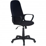 Кресло руководителя Бюрократ CH-808AXSN ткань, крестовина пластик, черное