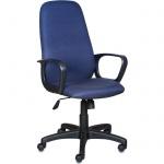 Кресло руководителя Бюрократ CH-808AXSN ткань, крестовина пластик, черно-синее