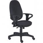 Кресло офисное Бюрократ T-612AXSN ткань, крестовина пластик, серое