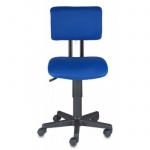 Кресло офисное Бюрократ CH-200NX ткань, синяя, TW, крестовина пластик