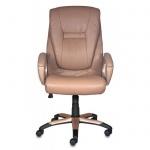 Кресло руководителя Бюрократ CH-875S иск. кожа, крестовина пластик, мокка