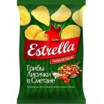 Чипсы Estrella, 85г, Лисички в сметане