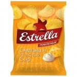 Чипсы Estrella, 85г, Сметана/Сыр