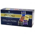 Чай Twinings 5 вкусов, черный, 20 пакетиков