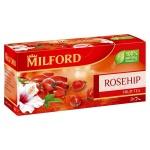 Чай Milford Rosehip, травяной, 20 пакетиков