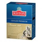 Чай Riston Premium Ceylon, черный, листовой, 100 г