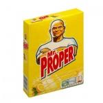 Средство для мытья пола и стен Mr Proper 400г, лимон, порошок