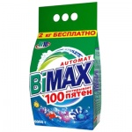 Стиральный порошок Bimax Compact, 100 пятен, автомат, 6кг