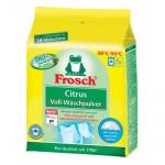 Стиральный порошок Frosch 1.35кг, цитрус с отбеливателем, концентрат