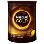 Кофе растворимый Nescafe Gold 150г, пакет