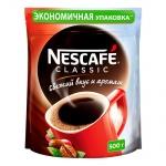 Кофе растворимый Nescafe Classic 500г, пакет