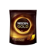Кофе растворимый Nescafe Gold 75г, пакет