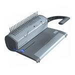 Брошюровщик гребеночный Profioffice Bindstream М12+, на 12 листов, переплет до 400 листов, пластиковая пружина