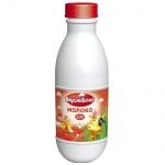 Молоко Вкуснотеево 3.2%, 900г, ультрапастеризованное