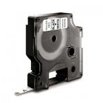 Картридж для принтера этикеток Dymo S0720780 D1, 6мм х 7м, белый с черными буквами, пластик