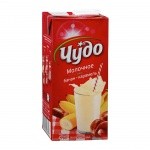 Молочный коктейль Чудо 2% банан-карамель, 950г