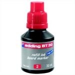 Чернила для маркеров Edding BT30 красные, 30мл, для маркерных досок