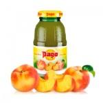 Сок Pago персик, 0.2л x 3шт, стекло