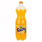 Напиток газированный Fanta апельсин 1.5л, пластик