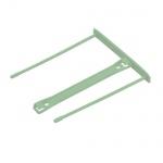Механизм для скоросшивателя металлопластиковый Fellowes зеленый, 100 шт/уп, FS-0089702