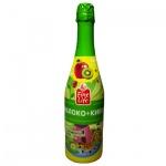 Детское шампанское Fine Life яблоко-киви, 0.75л, стекло