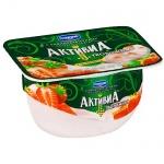 Йогурт Активиа творожная, 4.5%, 130г, клубника
