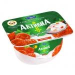 Йогурт Активиа творожная, 4.5%, 130г, малина