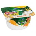 Йогурт Активиа творожная, 4.5%, 130г, отруби/злаки
