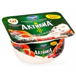 Йогурт Активиа творожная, 4.5%, 130г, чернослив/курага/инжир