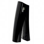 Степлер Rapid Fashion Eco №24/6, 26/6, до 25 листов, черный, вертикальный