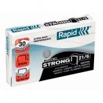 Скобы для степлера Rapid Super Strong 1M №21/6, стальные, 1000 шт